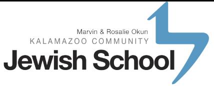 Okun Kalamazoo Community Jewish School
